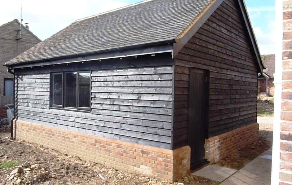 garage timber Google Search Brick exterior house