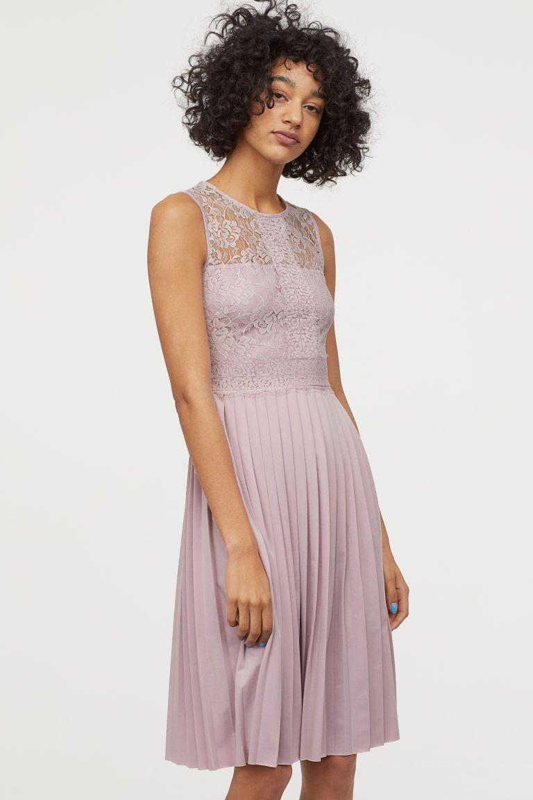3a974e741cadfe Plisowana sukienka z koronki w 2019 | Asia | Sukienka, Sukienki i ...