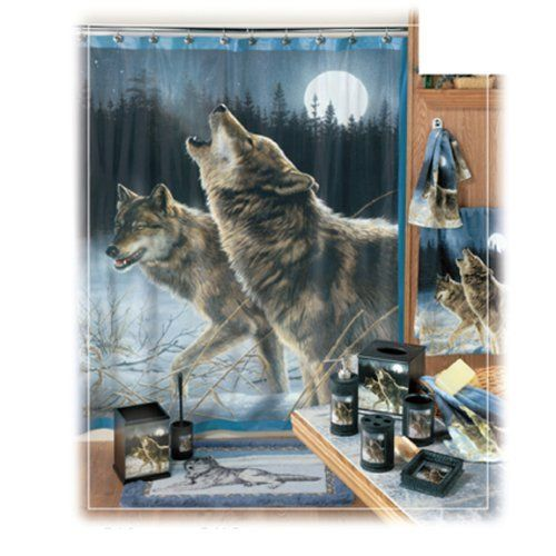 Howling Wolf Bath Accessory Toilet Brush Holder Http Www