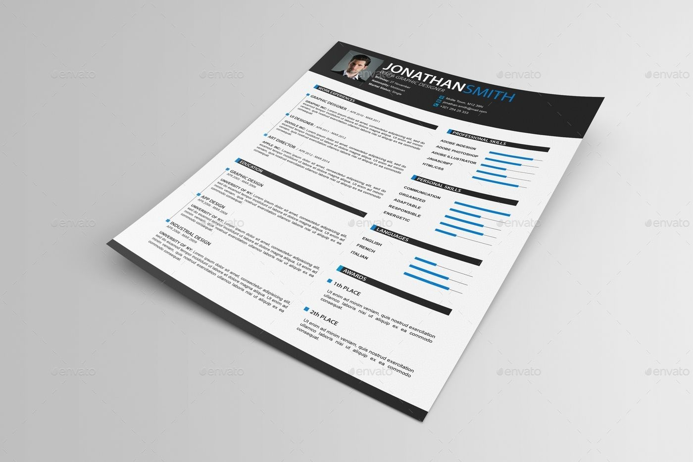 resume paper size a4 or letter