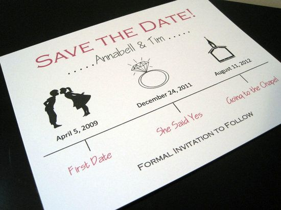 photo of Creative save-the-date