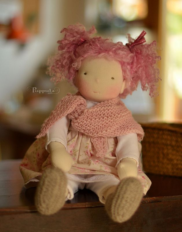 jersey knit woldorf doll - Google Search