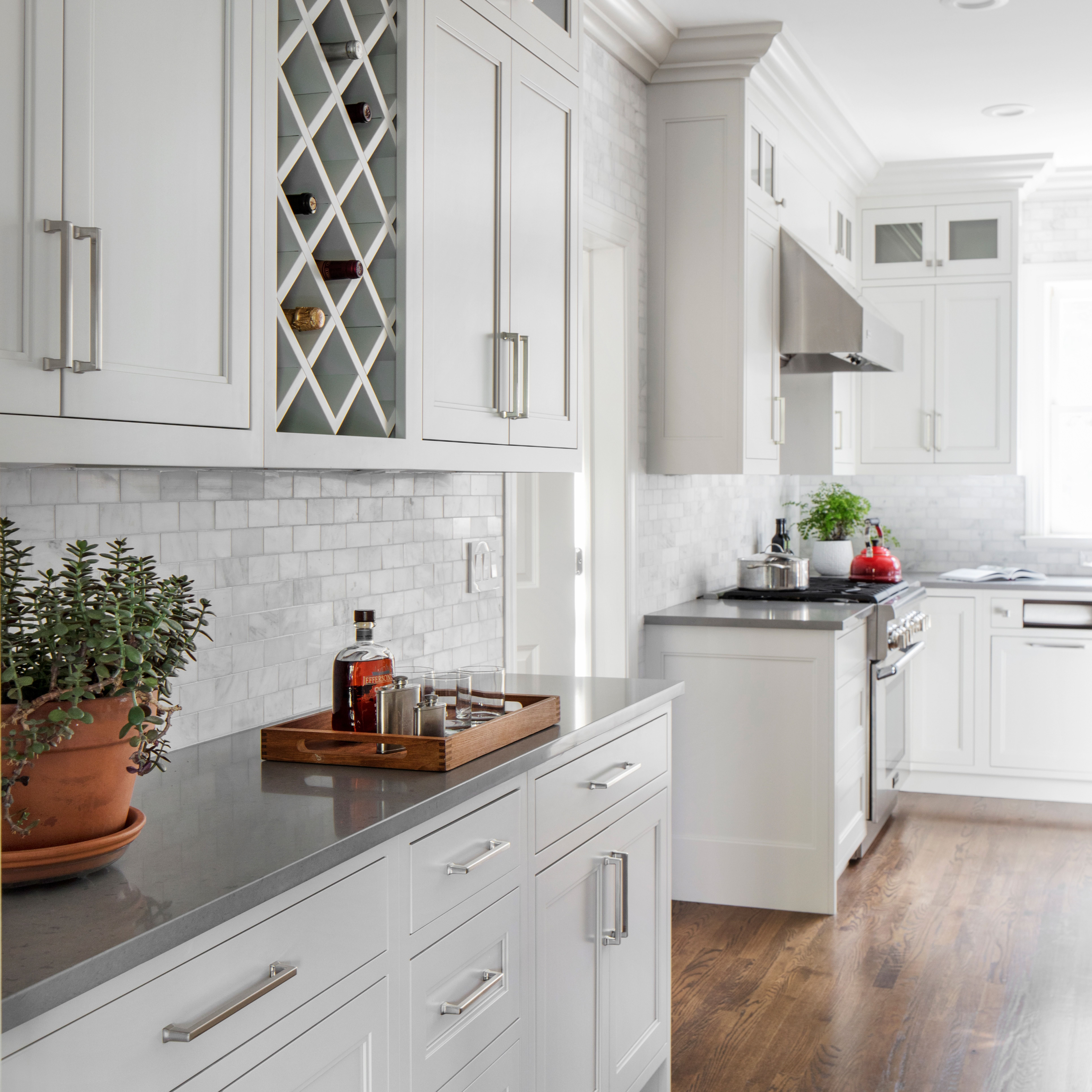 Young Family Colonial in Rye Neck | Kitchen pantry ...
