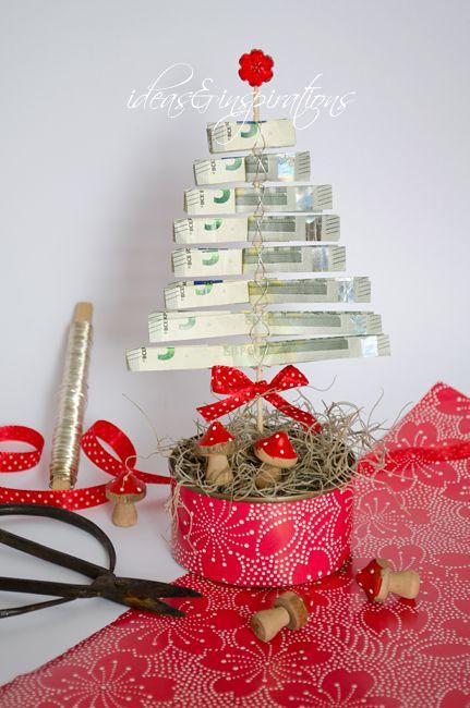 geld money geschenk gift present weihnachten christmas diy. Black Bedroom Furniture Sets. Home Design Ideas