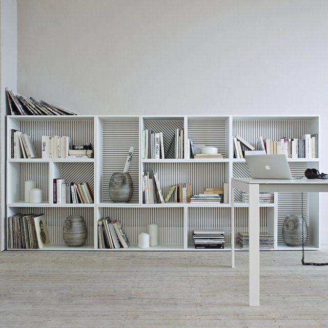 biblioth que basse persienne cinna tag re pinterest biblioth que basse persiennes et. Black Bedroom Furniture Sets. Home Design Ideas