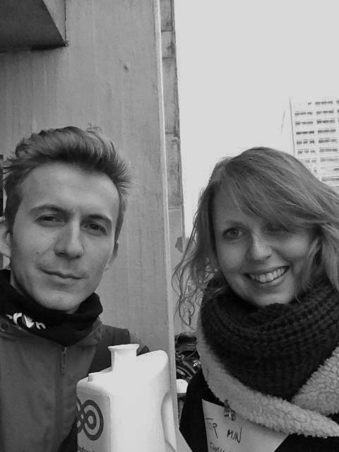 Marie og Christian havde en hyggelig dag i Aarhus med gode oplevelser og en god opbakning. Vi har allerede aftalt at gøre det igen næste år. :) #Landsindsamling #Visflaget