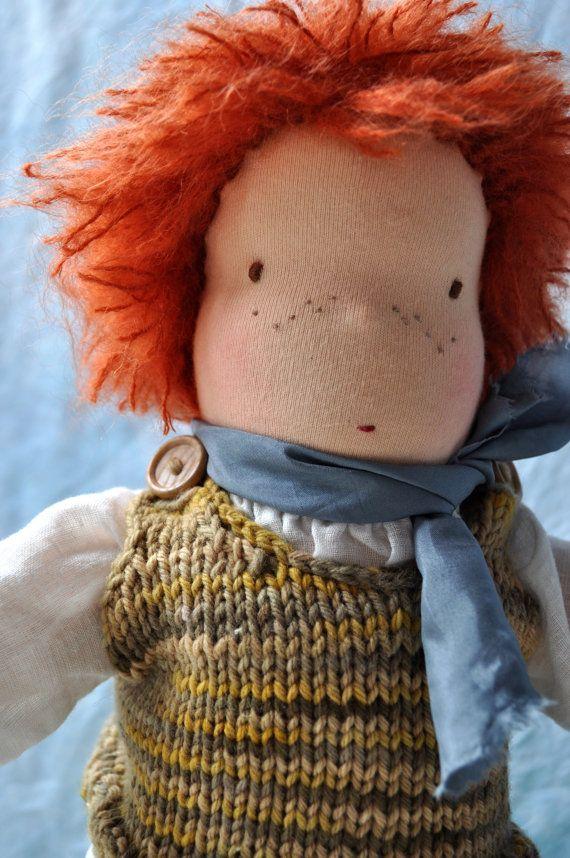 Waldorf Doll  15  Oliver by kiddiwinks on Etsy #waldorf doll