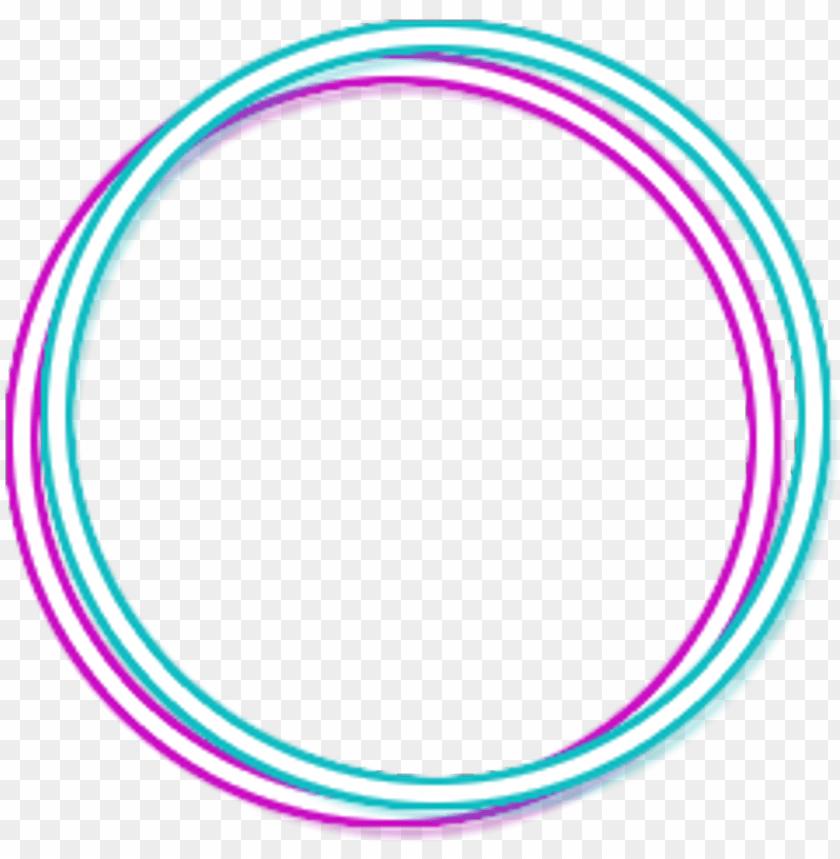Neon Blue Pink Glow Circle Circleframe Frame Circle Png Image With Transparent Background Png Free Png Images Neon Png Free Paper Texture Neon Light Wallpaper