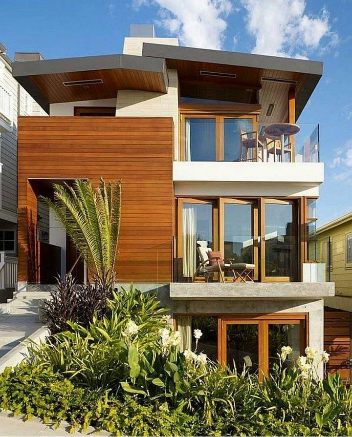 Contemporary Tropical House Tanga House: Small Modern Bungalow House Plans Ideas In 2020