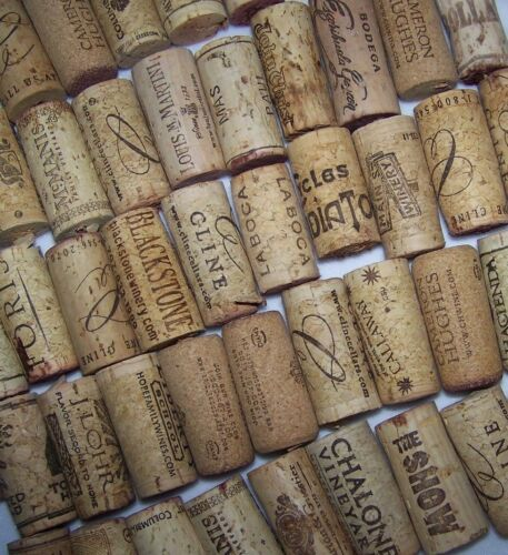 Cork Crafts For Weddings: Natural USED Wine Corks Lot Of 5 10 20 30 40 50 Recycled