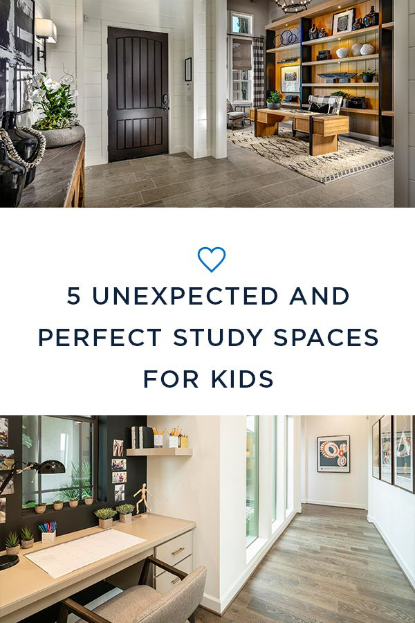 Decent Study Rooms: 5 Unexpected And Perfect Study Spaces For Kids
