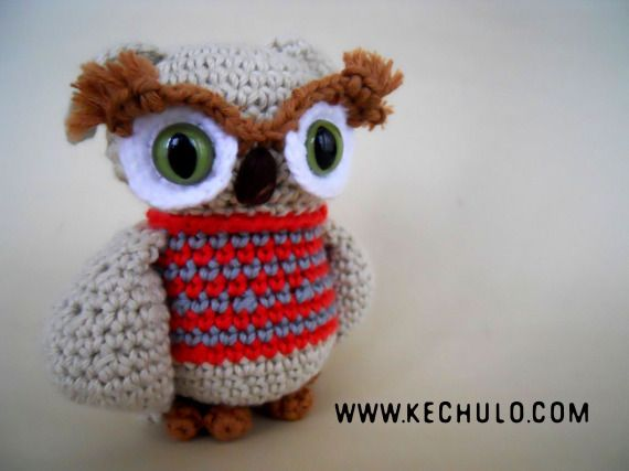Amigurumis Muñecas : Amibúho crochet amigurumis miniaturas y muñecas amigurumis