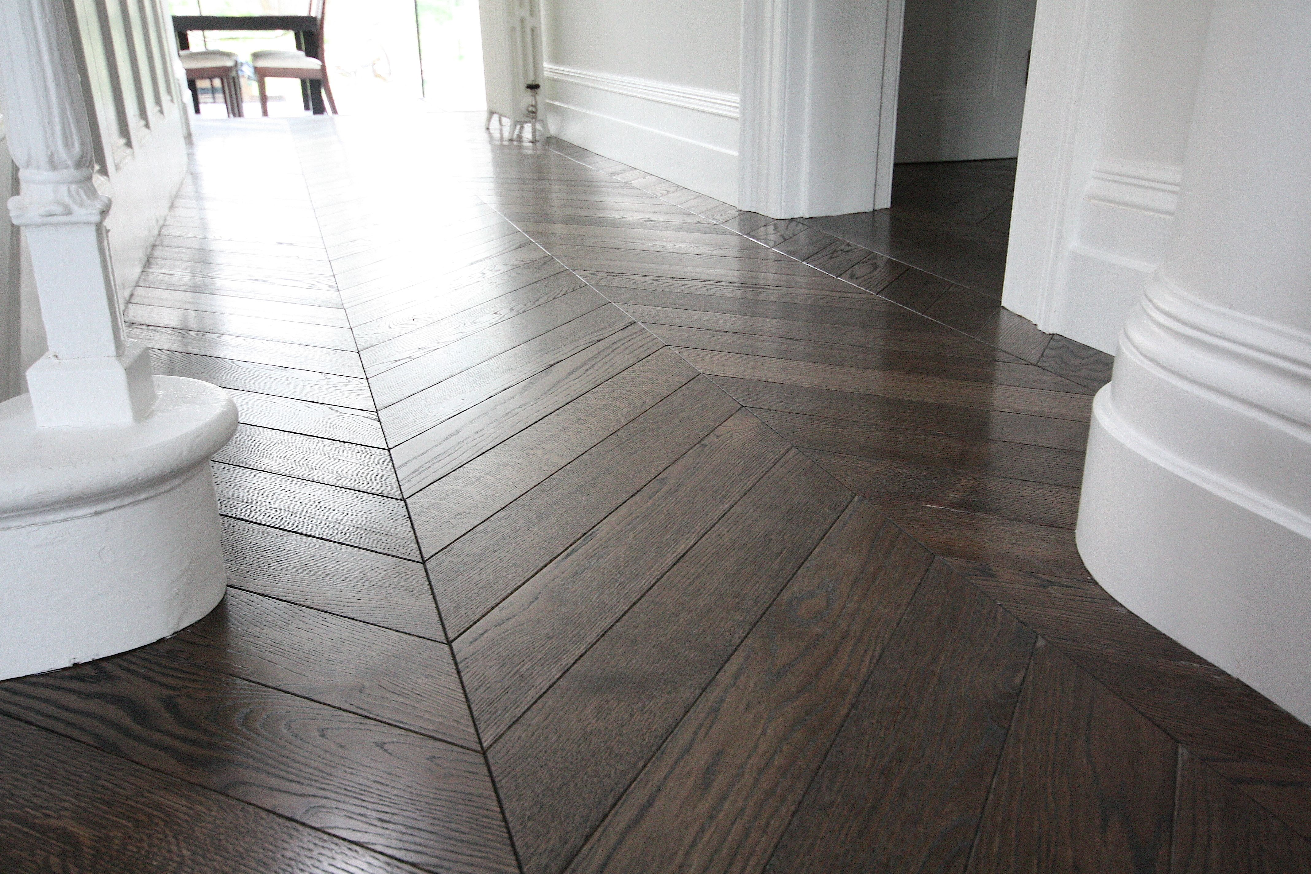 Chevron Timber Flooring With Border Google Search