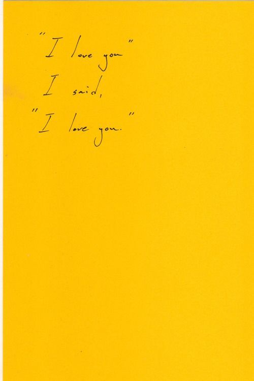 Milk And Honey Quote Wallpapers I Love You Yellow Words