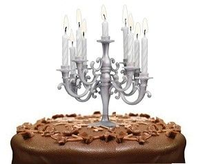 Cute way to light up the bday candles :)