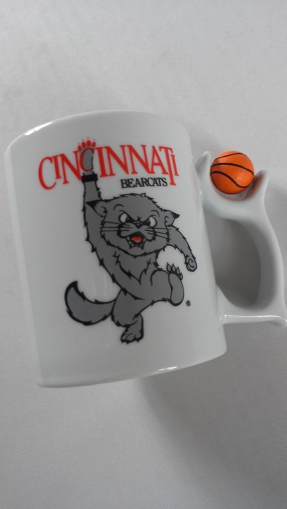 #Cincinnati #Bearcats Spinning #Basketball #Coffee Mug Cup Cocoa Milk Tea Kids #Cincy http://www.ebay.com/itm/-/301786999028?roken=cUgayN&soutkn=GBxtiO #bogo #ohio #bearcatnation