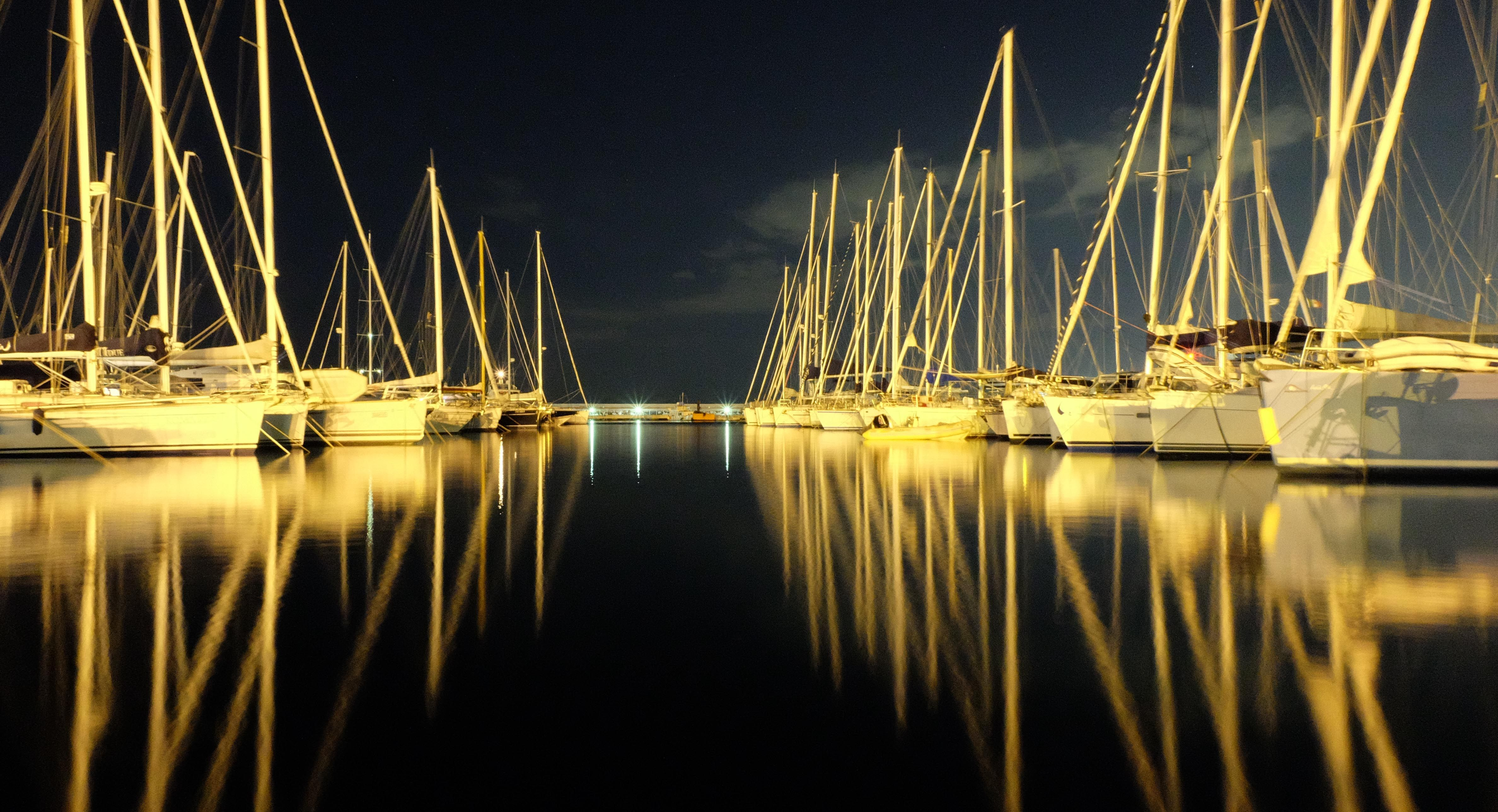 Boat sleeping at dock in Procida - italy - copyright Michele Pilotto #sailingandsea #sailingcharter #charter #vacanzaavela #sailingholiday #sailyacht #barcheavela