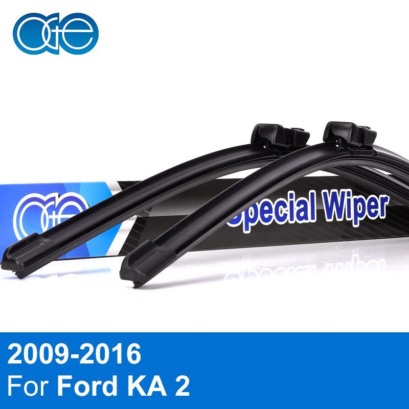 Oge Front And Rear Windshield Wiper Blades For Ford Ka 2 2009