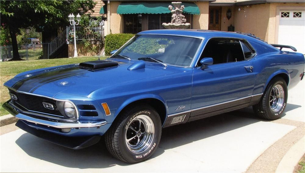 1970 FORD MUSTANG MACH 1 FASTBACK just need the  to restore