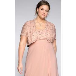 Reduzierte Spitzen-Boleros #rosaspitzenkleider