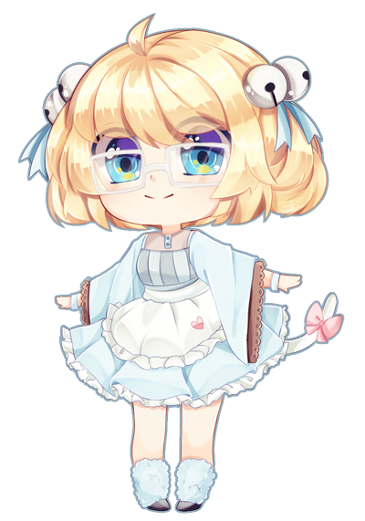 every time charm brings me a new OC, i just fall in love. this was such a pleasure to do! adorable character belongs to
