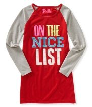 Kids' Long Sleeve Nice Nighty - PS From Aéropostale®