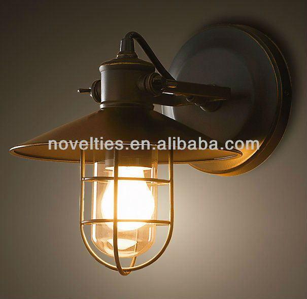 Vintage industrial style wall light reasonable outdoor lighting with buy vintage industrial style wall light reasonable in china on alibaba mozeypictures Gallery
