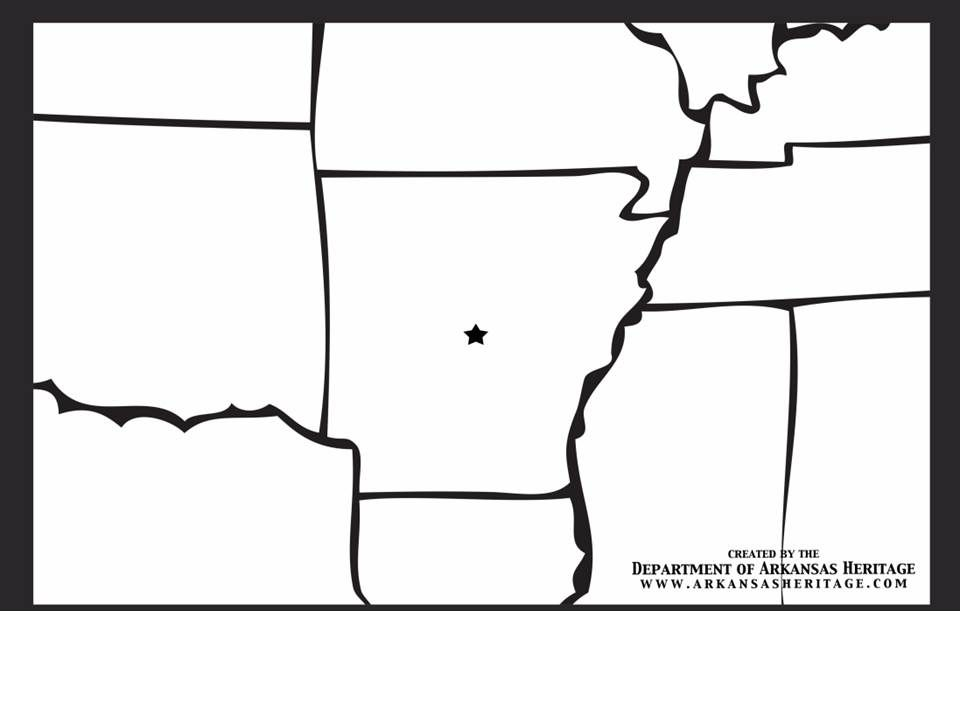 Free Poster Coloring Page From The Department Of Arkansas