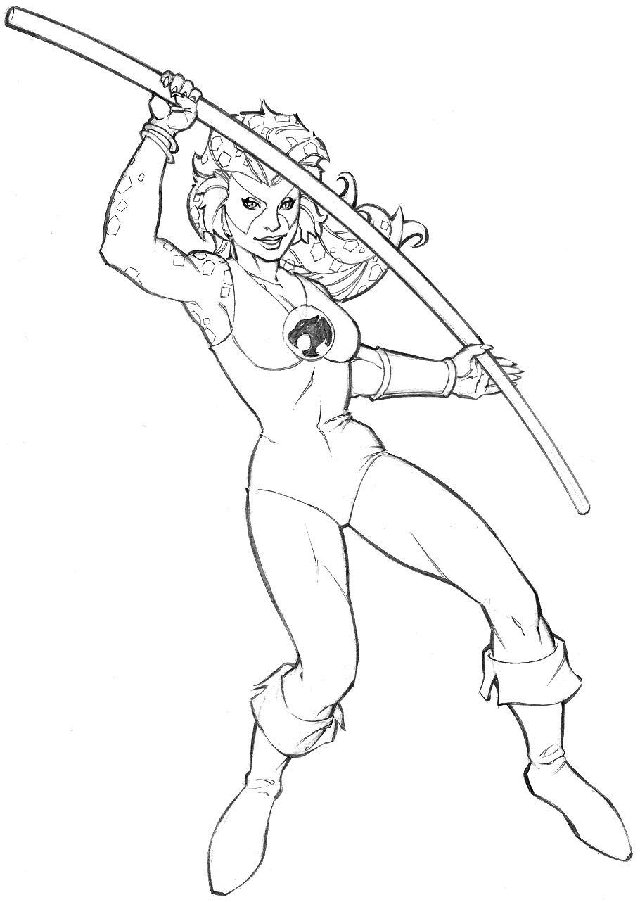 cheetara thundercats coloring pages - photo#18