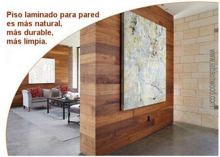 piso laminado en pared L - Buscar con Google | recepción | Pinterest ...