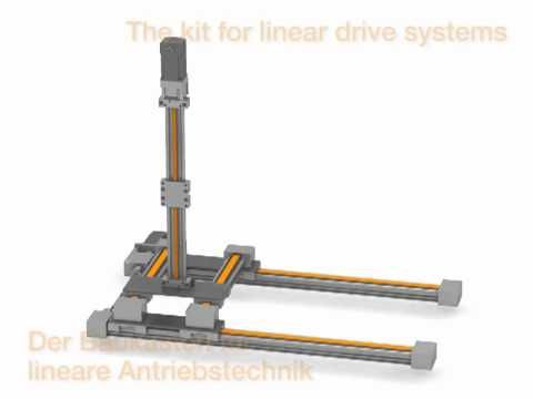 The drylin E motor driven linear modules from igus are used in