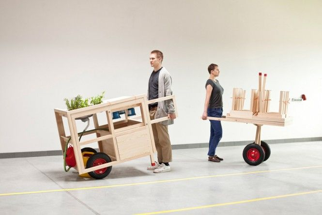 Nomadic Furniture 3.0 - NEW LIBERATED LIVING Created by INNER DESIGN