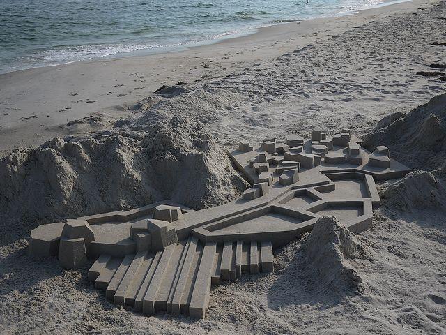 Modern sandcastles calvin seibert