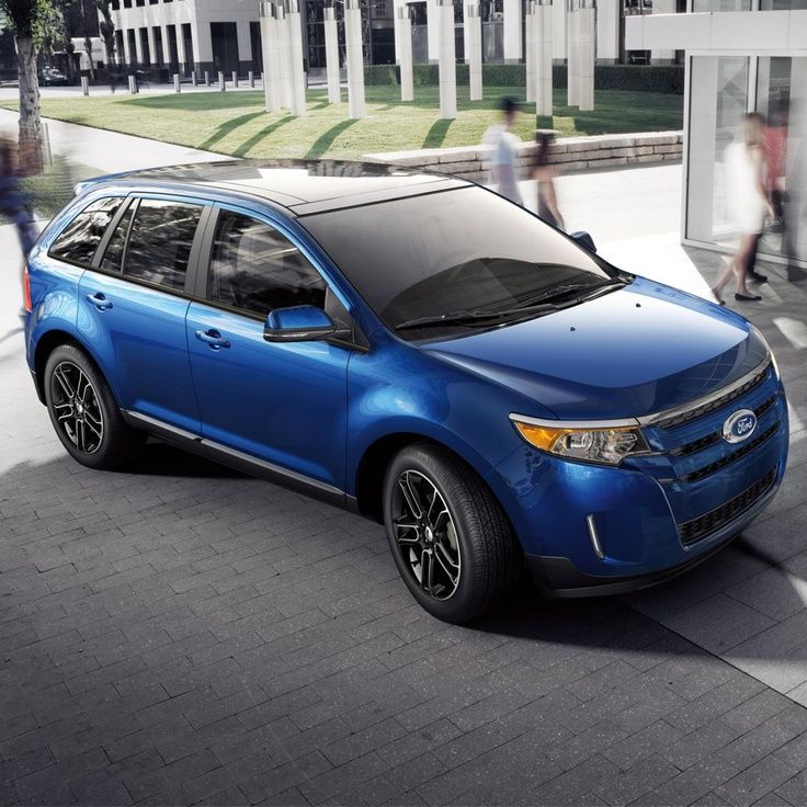 Ford Edge Blue 2014 Ford edge, Ford suv, Suv