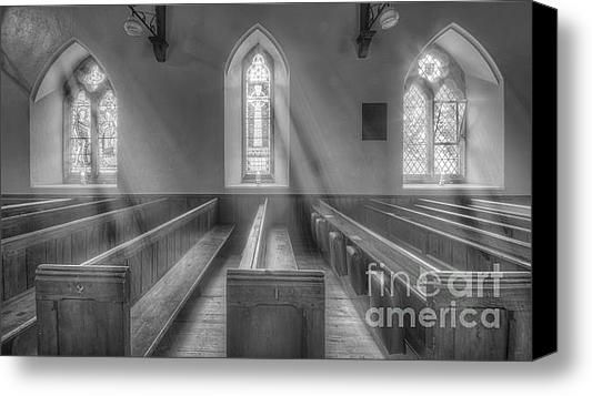 St Micheals And All Angels Stretched Canvas Print / Canvas Art By Darren Wilkes