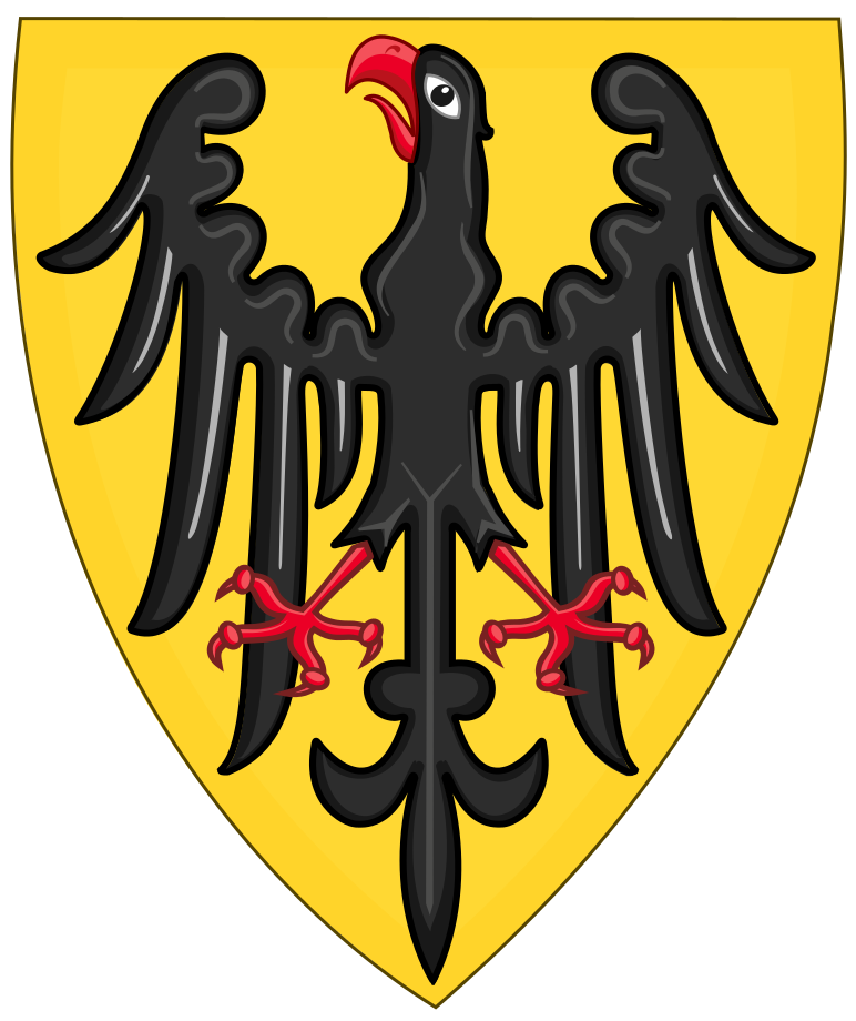 Shield and Coat of Arms of the Holy Roman Emperor (c.1200
