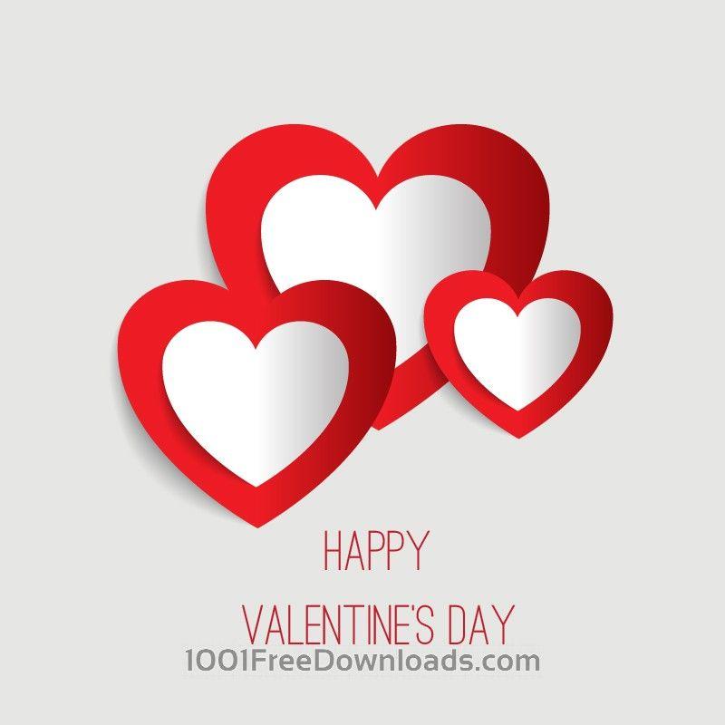 Free Vectors: Happy Valentine's Day vector illustration | Holidays