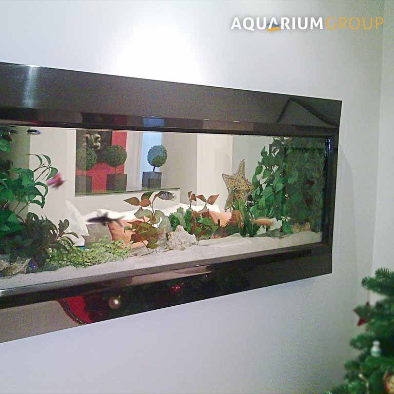 Stainless Steel Picture Frame Fish Tank