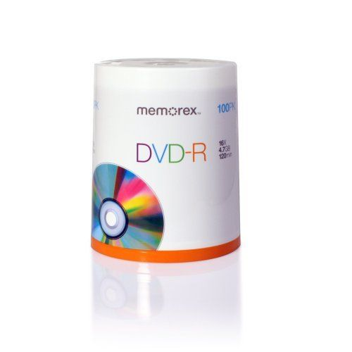 photo relating to Printable Dvd Rs identify Memorex DVD-R 16x 4.7GB 100 Pack Spindle Printable by way of