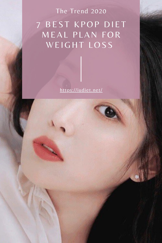 Pin On Kpop Diet Meal Plan