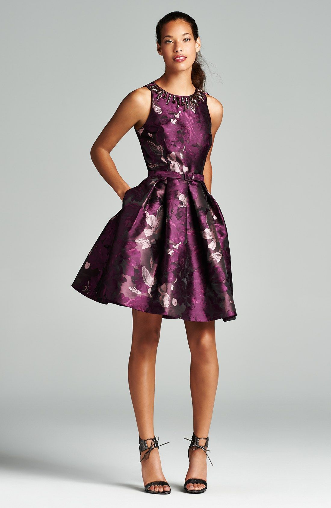 What To Wear To A Fall Wedding Fit And Flare Dress Fit Flare Dress Flare Dress [ 1687 x 1100 Pixel ]