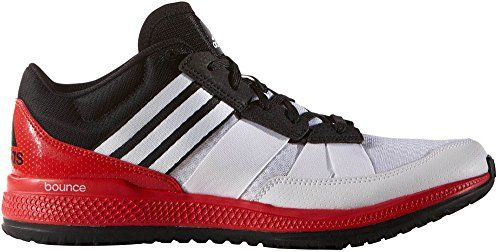 7020bfe0e adidas Performance Mens Zg bounce CrossTrainer Shoe WhiteBlackVivid Red 85  M US    To view