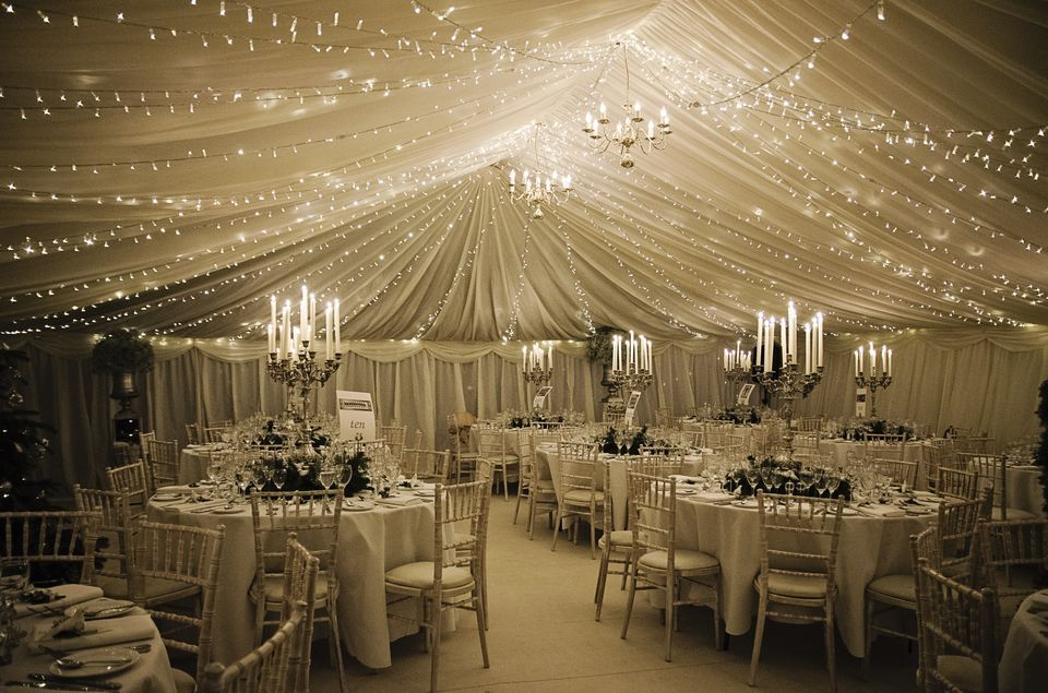 Pleated Linings With Fairy Lights To Create A Beautiful Winter