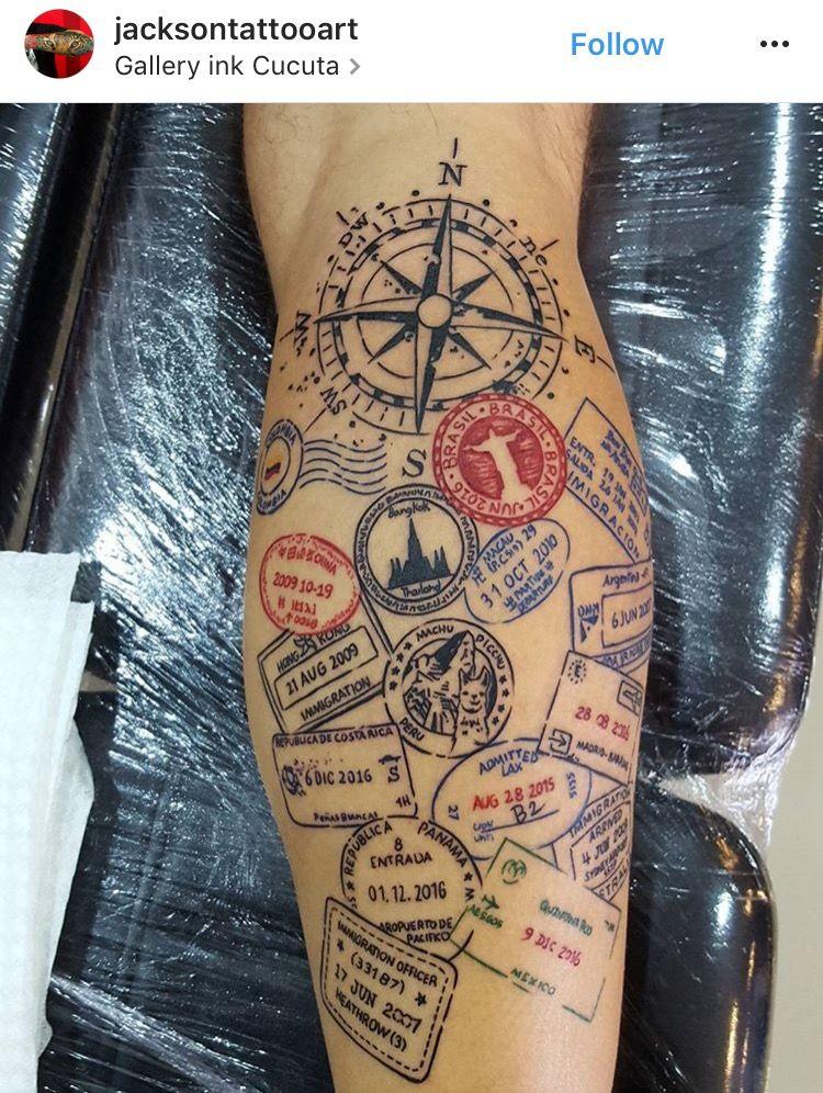 cdcdac0ea1ca8 tattoo #travel | Tattoos | Tattoos, Tattoo trends, Sleeve tattoos