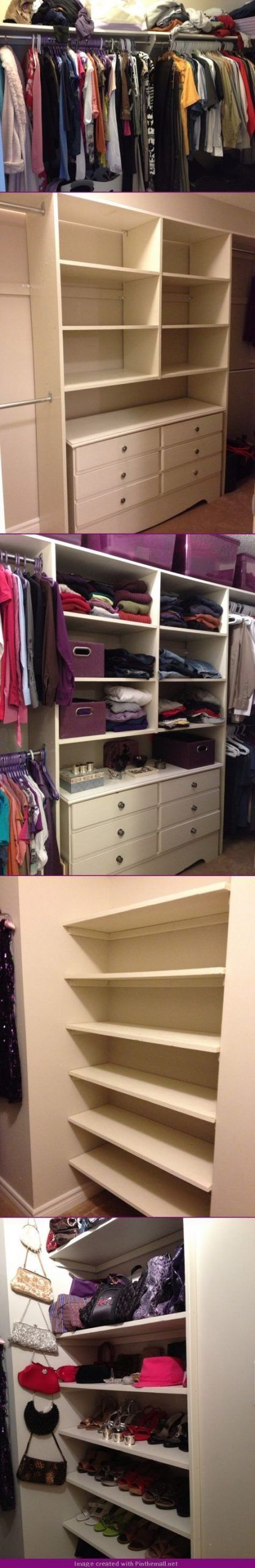 Bedroom Closet Makeover Middle 39 Ideas,