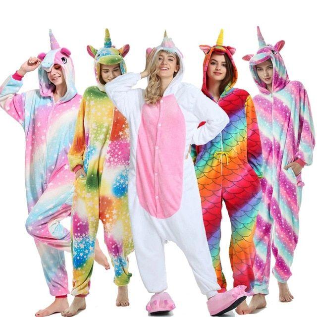 baf6f905d wholesale winter pijama unicornio stitch unicorn pajama sets cartoon ...