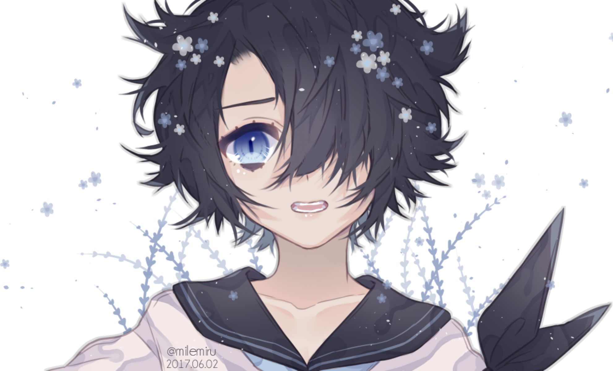 Forgotten Speedpaint By Milemiru On Deviantart Anime Art Girl Cute Anime Guys Kawaii Anime
