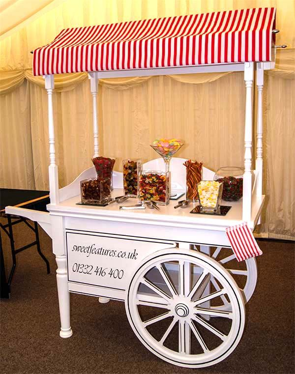 Sweet Features Events Hire Wedding Candy Carts Table Centres Floss Bespoke