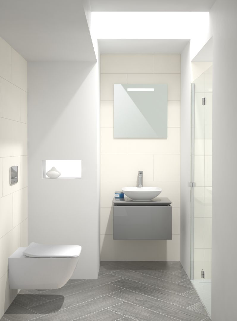 Gastebad Bad Inspirator Villeroy Boch Badezimmer Badezimmer Klein Kleines Bad Einrichten