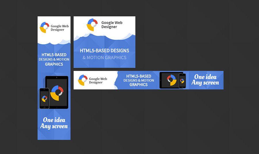 Resize Ready HTML Google Ads Templates Website Designers - Google web designer templates